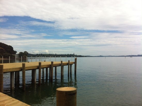 35 Degrees South Aquarium Restaurant & Bar: Part of the view