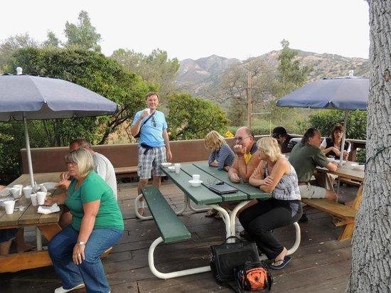 Sierra Lodge: завтрак