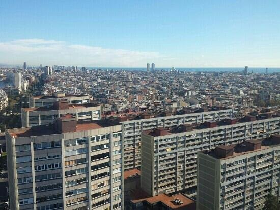 Gran Hotel Torre Catalunya: view from the restaurant