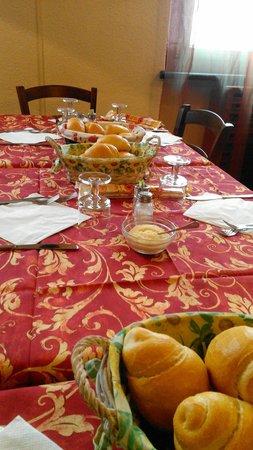 Auto Hotel Saint Christophe: Sala da pranzo