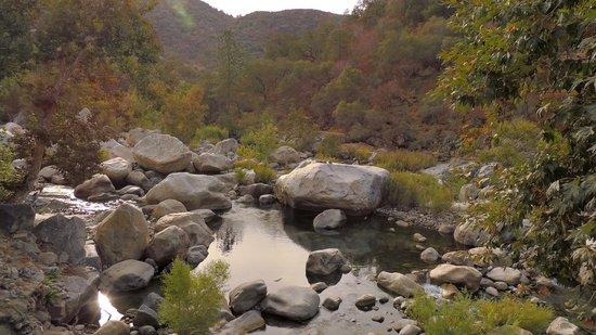Sierra Lodge: речка у отеля