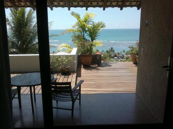 Maitei Hotel: vista do quarto vista mar