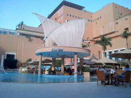 Pool Bar Picture Of Intercontinental Cairo Citystars Cairo Tripadvisor