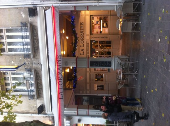 Brasserie La Lorraine: Devant du restaurant