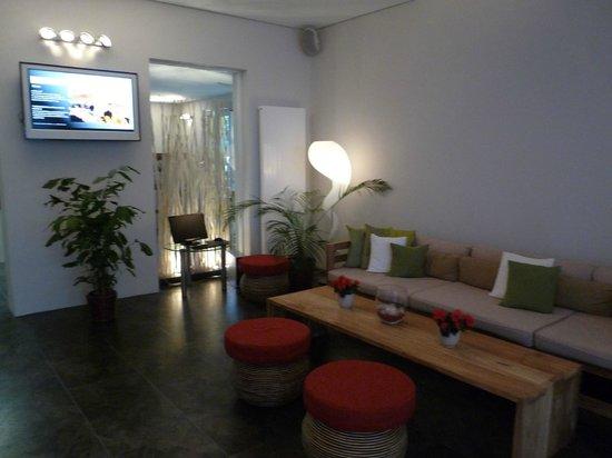 Hotel Loccumer Hof: Foyer mit Internetstation