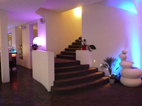 Hotel Loccumer Hof: Treppenaufgang