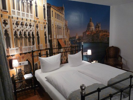 Hotel Loccumer Hof: kleines Themenzimmer Venedig