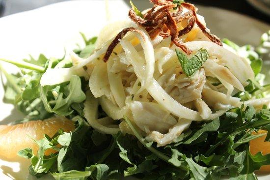 Cafe Degas: Crabmeat Salad with Fennel