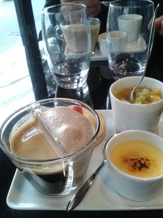 Folie's cafe: le café gourmand