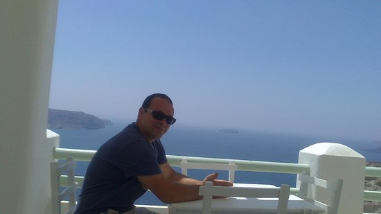 Athermi Restaurant Bar: vistas