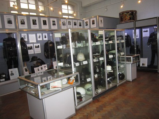 Greater Manchester Police Museum: ground floor exhibition
