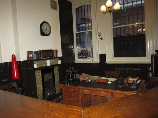 Greater Manchester Police Museum: courthouse on first floor