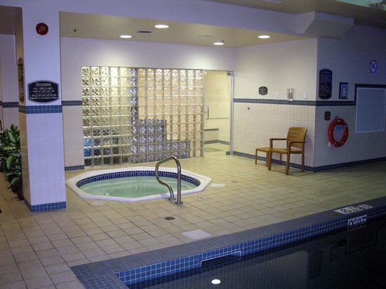 Crowne Plaza Moncton Downtown : Hot Tub in Pool Area - Crowne Plaza Moncton