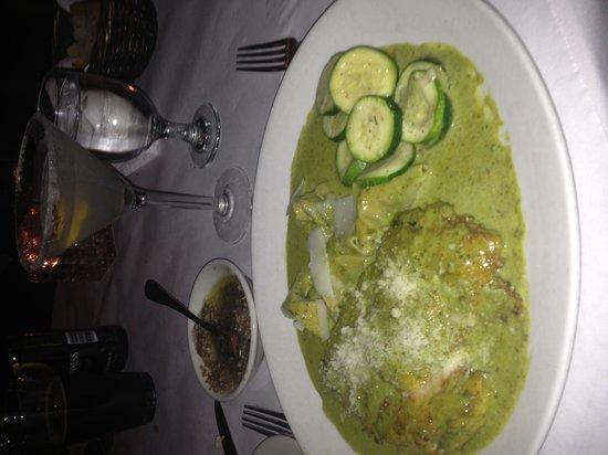 Giuseppe's Cucina Italiana: Chicken Basilico with homemade tortellini.  SO delicious!