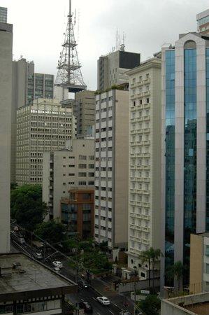 Estanplaza Paulista: 10th floor view