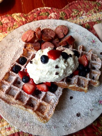 Chocolate Chip Bed and Breakfast: Breakfast
