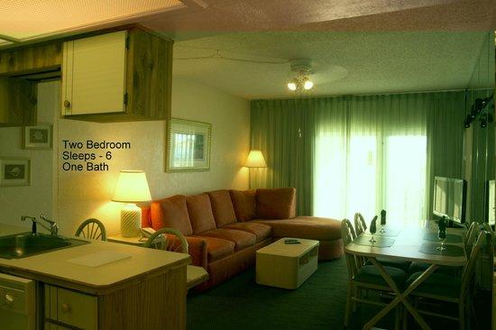 Ocean East Resort Club: 2BR Living Room