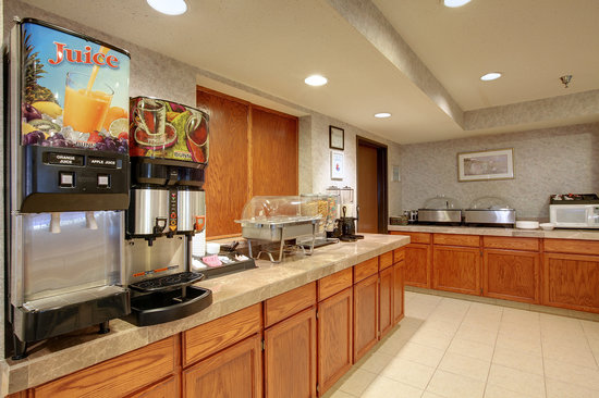 Americas Best Value Inn & Suites - St. Charles / St. Louis : HOT breakfast