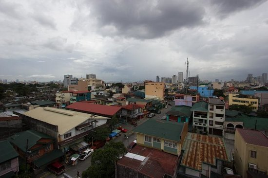 Red Carabao : View from the rooftop patio!