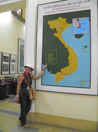Museo della storia del Vietnam interno Picture of Museum of