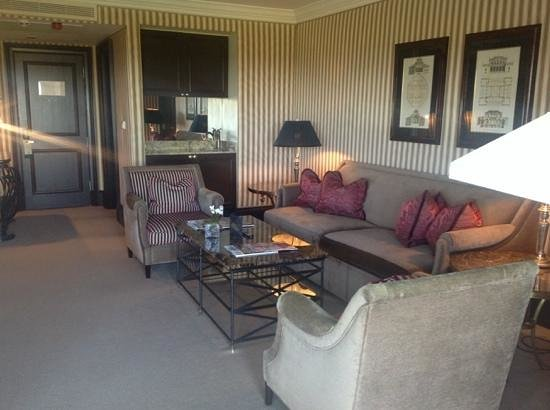 Old Course Hotel, Golf Resort & Spa: sitting room in my suite