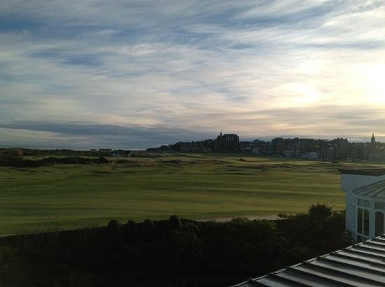 Old Course Hotel, Golf Resort & Spa: view from my suite