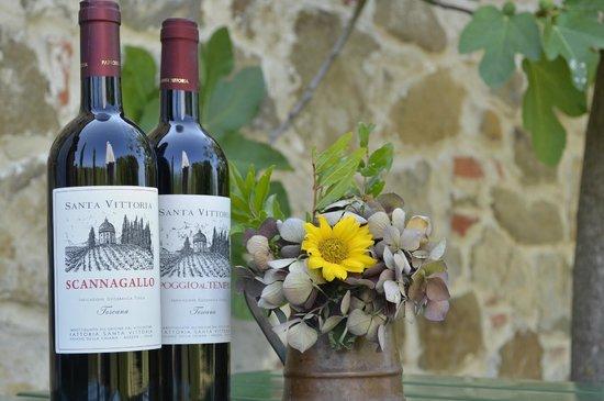 Agriturismo Fattoria Santa Vittoria: Welcoming present