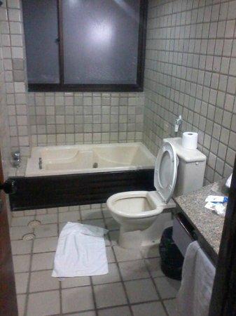Hotel Canariu's Palace: bathroom = 6th floor