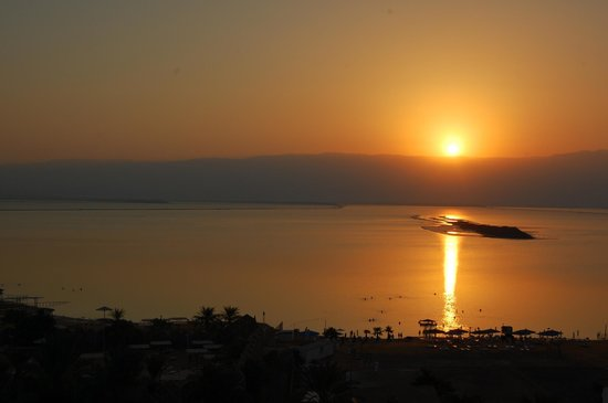 Isrotel Dead Sea Hotel & Spa: View from our Isrotel room