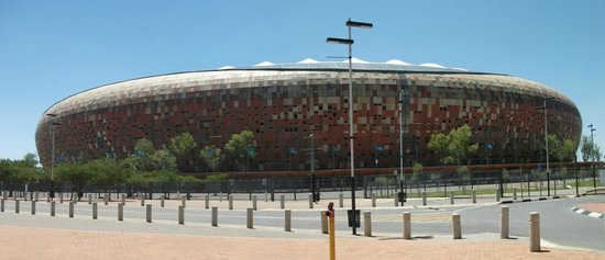 FNB Stadium: Panoramic view.