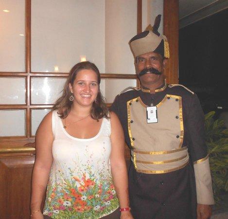 Grand Hotel Cochin: Friendly doorman