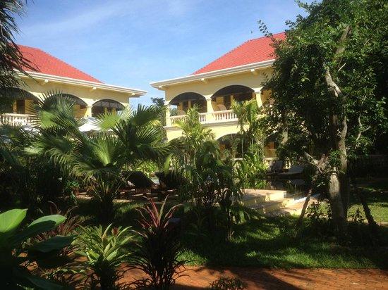 Pavillon d'Orient Boutique-Hotel: garden