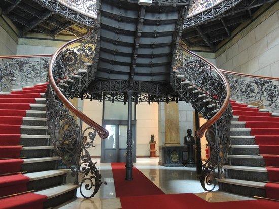 Palácio da Liberdade: Escadaria do Palácio