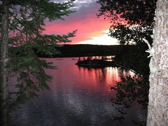 Cedar Lake Lodge: What a view!!