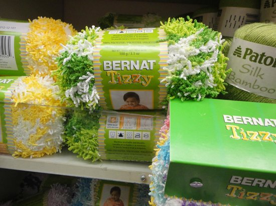 Spinrite Yarns and Dyers: Bernat Tizzy yarn for toddlers knit wear