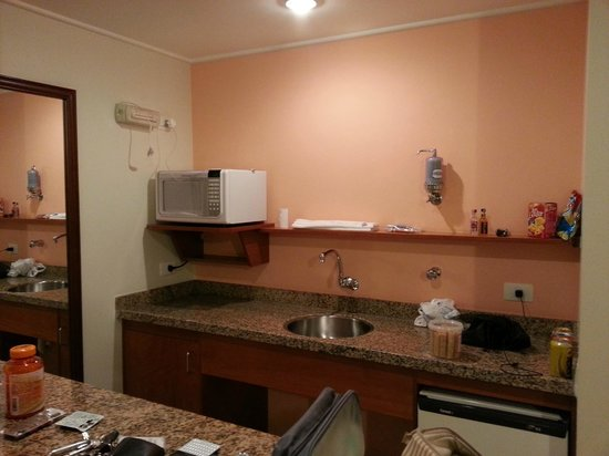 New Life Piracicaba Apart Hotel: Cozinha americana