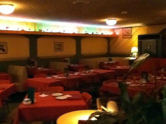 Green Arch Restaurant Dining Room