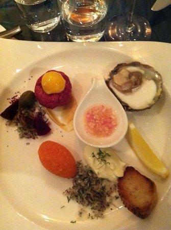 Linnea Art Restaurant: starter fantasy