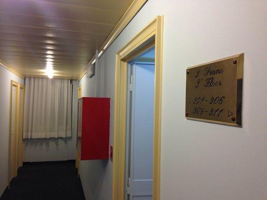 Hotel Bisanzio : Corridoio 3º piano