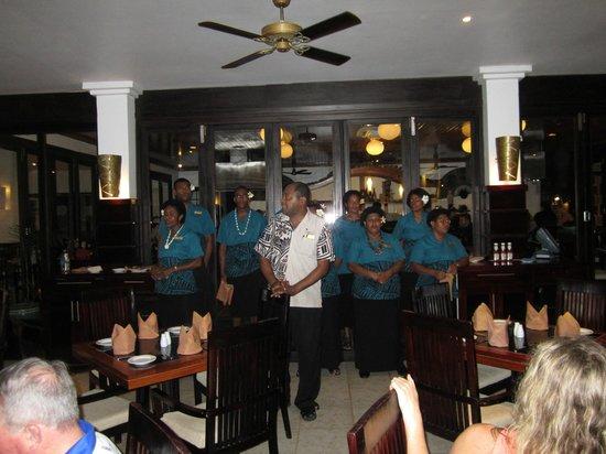 The Warwick Fiji: Singing
