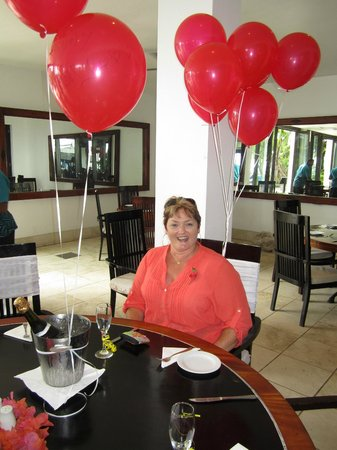 The Warwick Fiji: Birthday girl