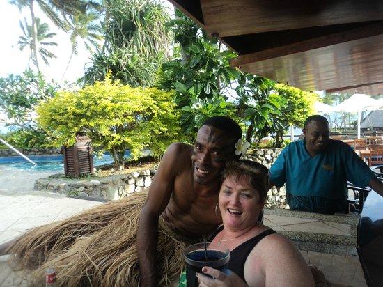 The Warwick Fiji: Fun with Staff