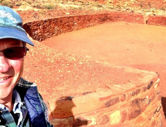Wupatki National Monument: The Ole Ballpark..... Archaeologists can only speculate on how the game was played. — at Wupatki