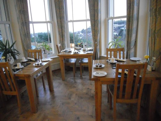 Wildercombe House: restaurant