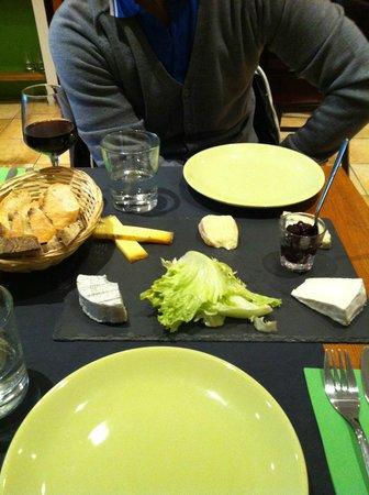 L'Affineur' Affiné : piatto 5 assaggi