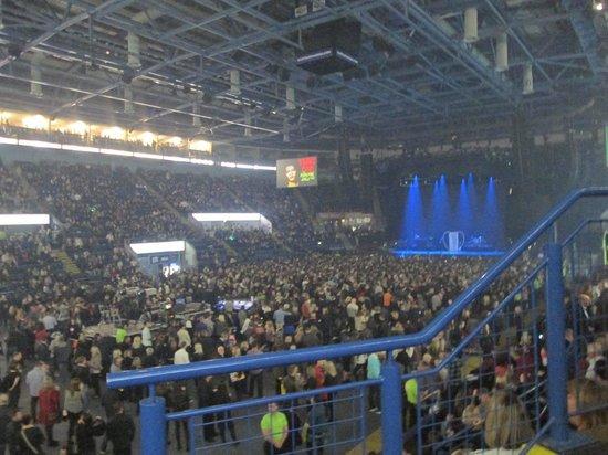 Motorpoint Arena Nottingham: from block 13
