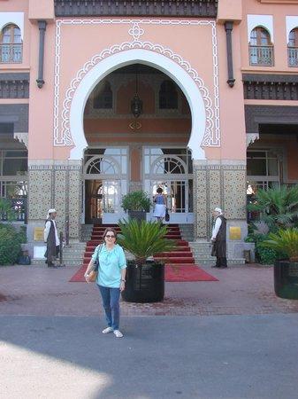 Sofitel Marrakech Palais Imperial : Entrada principal Sofitel Marrakech