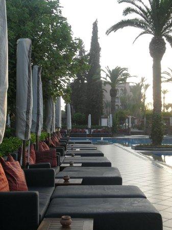 Sofitel Marrakech Palais Imperial : Sofitel Marrakech área de piscina