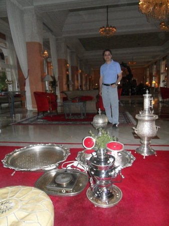 Sofitel Marrakech Palais Imperial : Hall principal Sofitel Marrakech