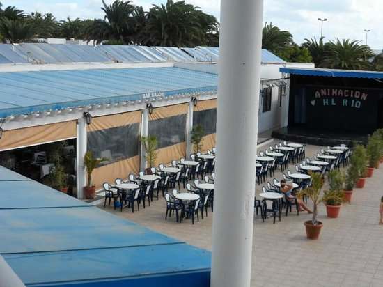 HL Hotel Rio Playa Blanca: outside entertainment summer only